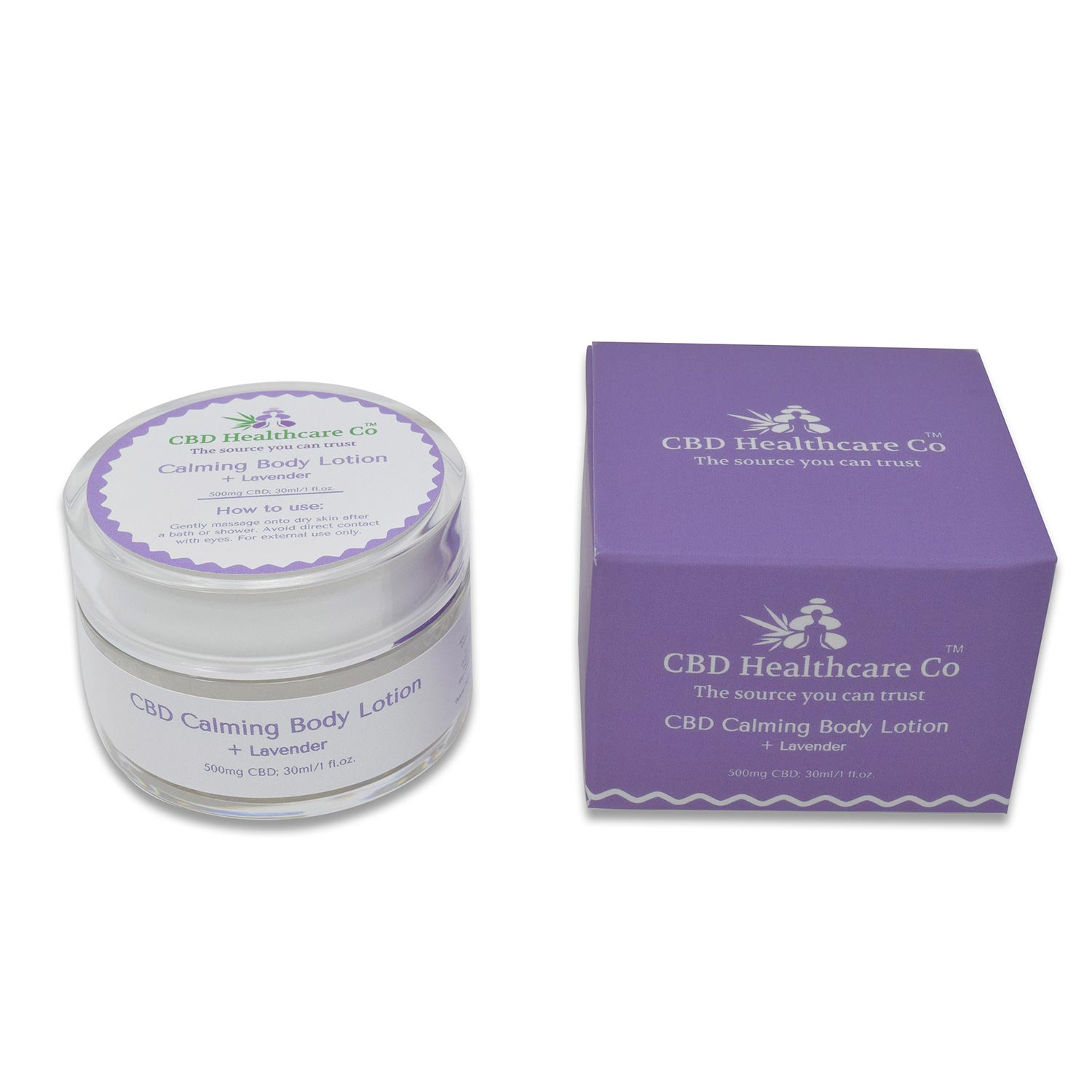 CBD Calming Body Lotion