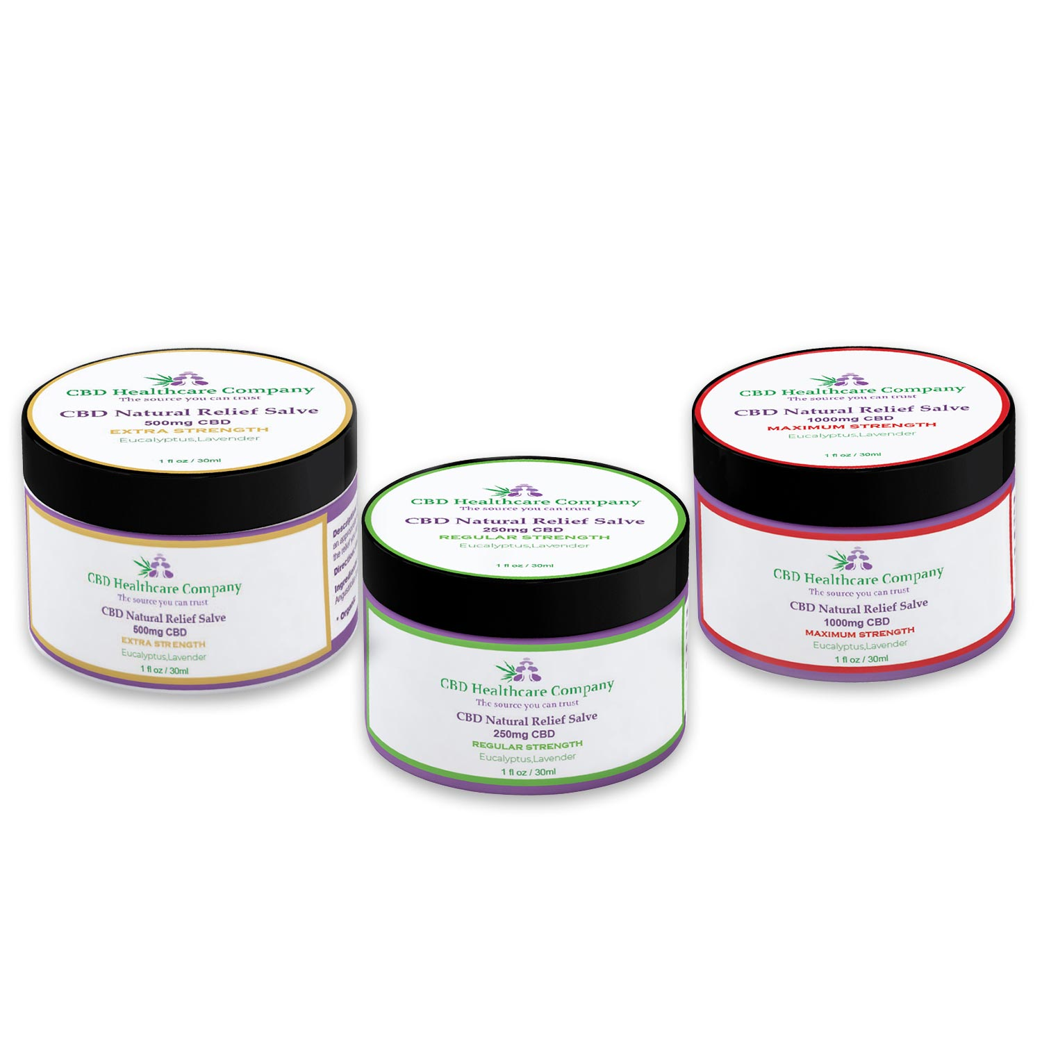 CBD Natural Relief Salve