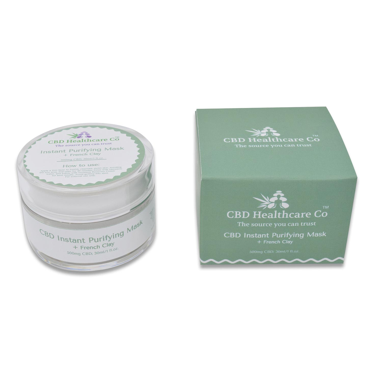 CBD Instant Purifying Mask