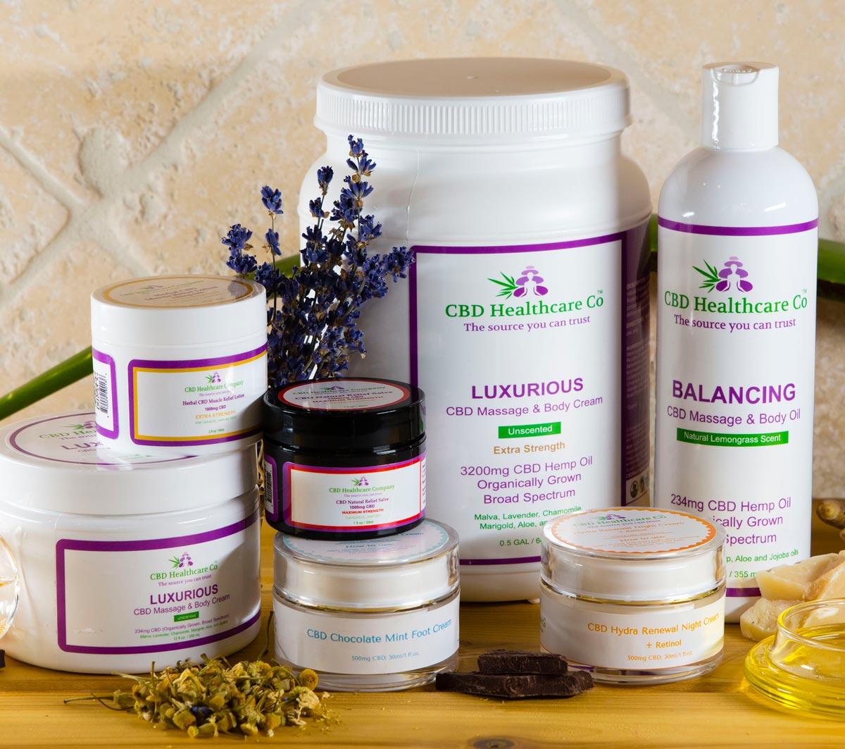CBD Healthcare Company products
