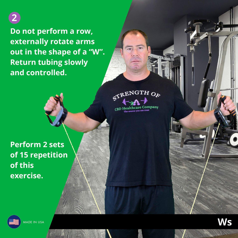Shoulder Strengthening - Ws